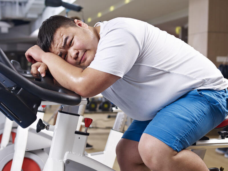 Not losing weight despite exercise and diet