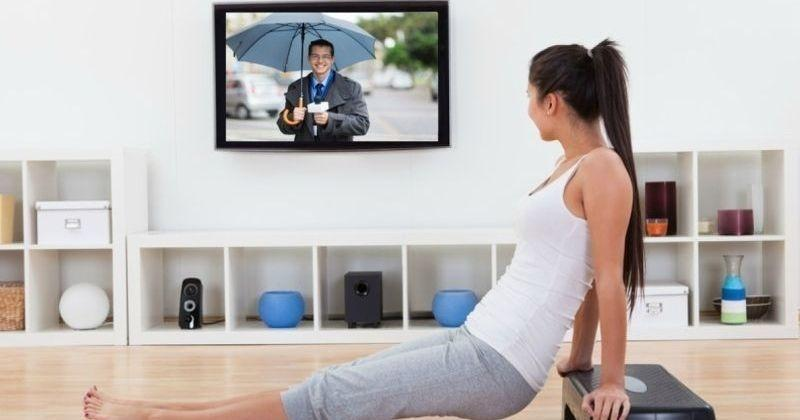 Workout while watching your favorite show